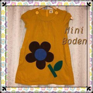 Mini moden 7-8 y GUC yellow gold flower dress 🐯